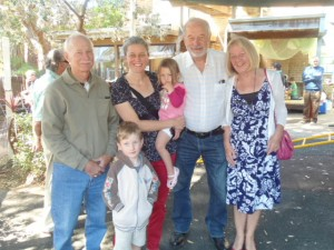 Sally's family- grandparent's day
